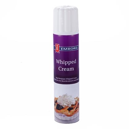 Emborg Spray Whipped Cream 500ml/bottle (sold per bottle ...